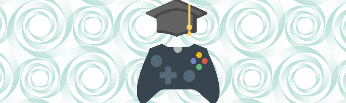 Xbox Controller with a Mortarboard representing Gamification in Education1