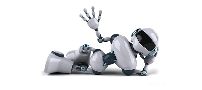 Robot waving at user1